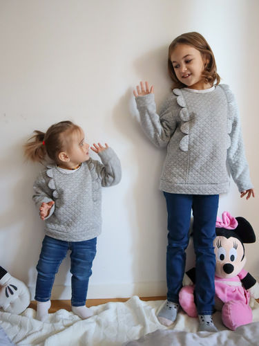 Makerist - Sweat Ysée Kids - Créations de couture - 1