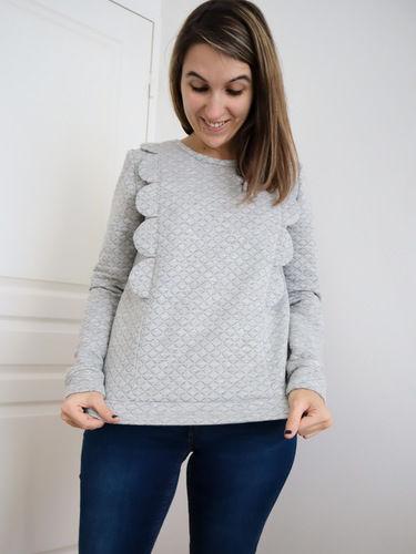 Makerist - Sweat Ysée Femme - Créations de couture - 1