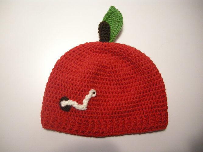 Makerist - Apfelmütze - Häkelprojekte - 1