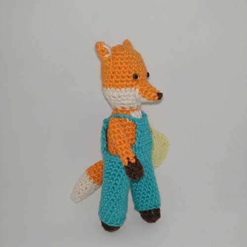 "Makerist - Amigurumi renard ""pocket friend"" - Créations de crochet - 3"