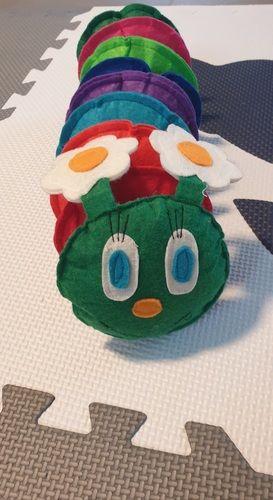 Makerist - Klettraupe - DIY für Kinder - 1