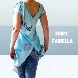 Shirt Fabiella aus Jersey für Damen