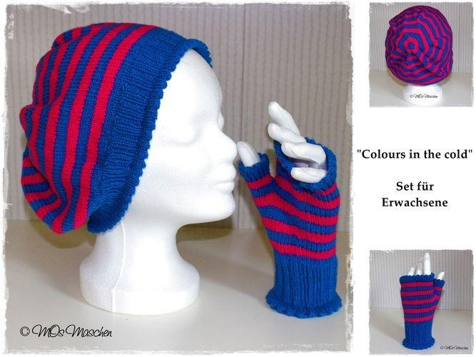 "Makerist - Set ""Colours in the cold"" - Strickprojekte - 1"