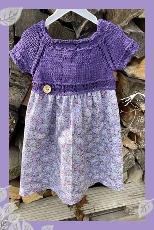 Kinderkleidchen nach Anleitung von Sandrine et Compagnie