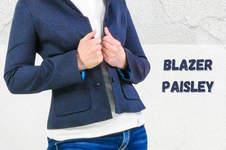 Makerist - Blazer Paisley aus Webware für Damen - 1