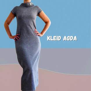 Makerist - Schlauchkleid Agda aus Jersey für Damen - 1