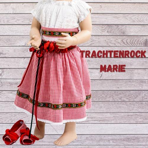 Makerist - Trachtenrock Marie aus Webstoff für Kinder - Nähprojekte - 1