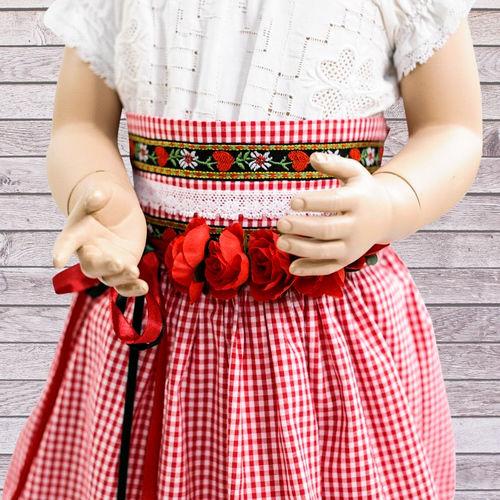 Makerist - Trachtenrock Marie aus Webstoff für Kinder - Nähprojekte - 2