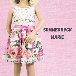 Makerist - Sommerrock Marie aus Webware für Kinder  - 1