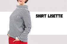 Makerist - Longshirt Lisette mit Stehkragen - aus Jersey für Damen - 1