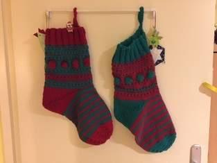 Knit-Along weihnachtssocke