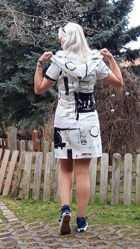 Makerist - Luftig- leichtes Sommerkleid mit cooler Kapuze - Nähprojekte - 2