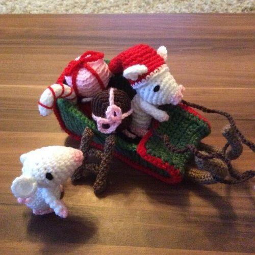 Makerist - Weihnachtsmäuse ABO - Häkelprojekte - 2