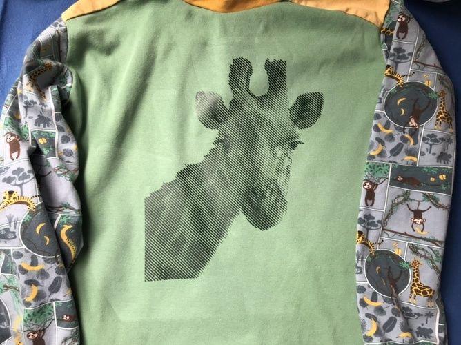Makerist - Cooler Giraffenplott - Textilgestaltung - 1