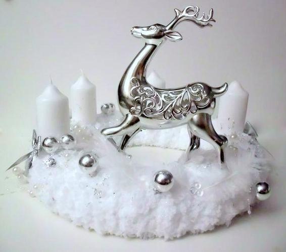 Makerist - Adventskranz Winterzauber - DIY-Projekte - 1