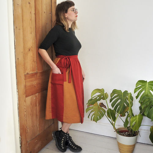 Makerist - Leda - Atelier Vicolo No 6 - Midi length wrap skirt - Sewing Showcase - 1