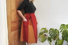 Makerist - Leda - Atelier Vicolo No 6 - Midi length wrap skirt - 1