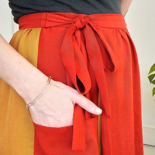 Makerist - Leda - Atelier Vicolo No 6 - Midi length wrap skirt - Sewing Showcase - 3