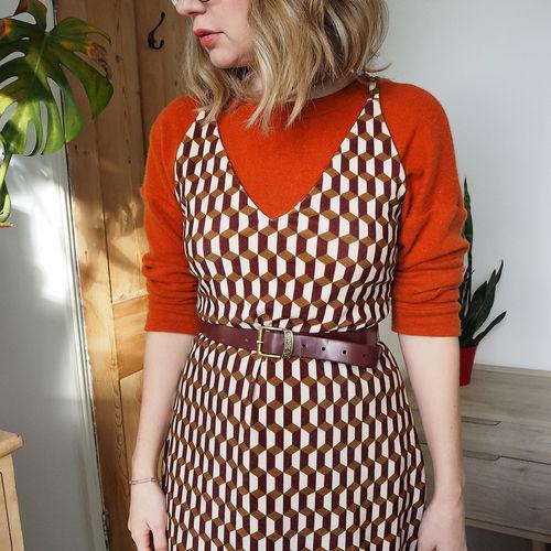 Makerist - Leona dress - long velvet version - Sewing Showcase - 1