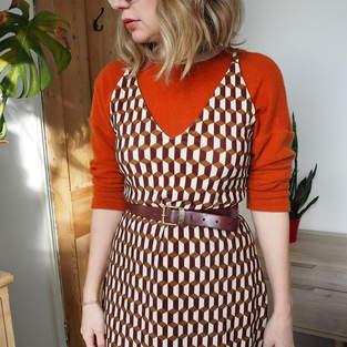 Makerist - Leona dress - long velvet version - 1