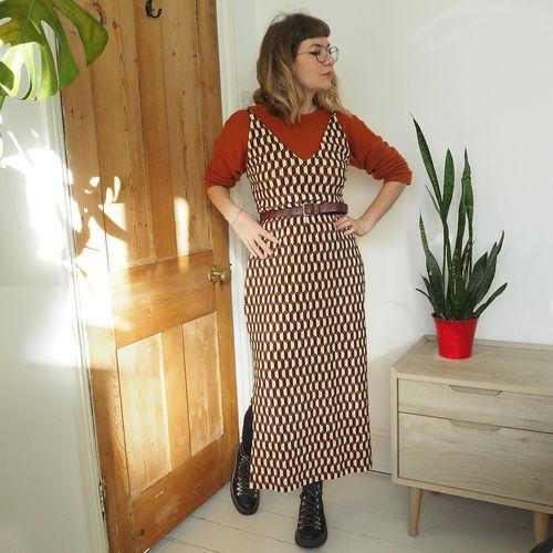 Makerist - Leona dress - long velvet version - Sewing Showcase - 2