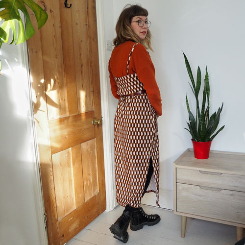 Makerist - Leona dress - long velvet version - Sewing Showcase - 3