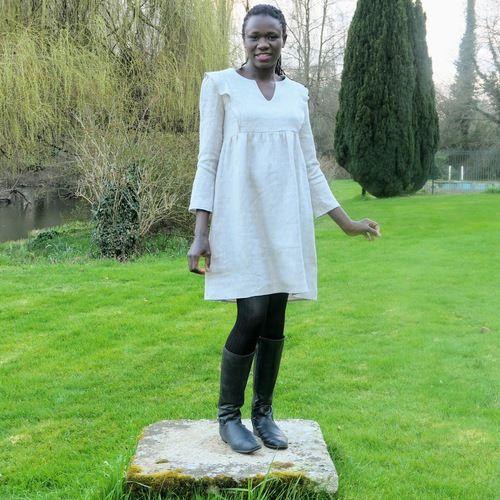 """Makerist - Robe """"In the Sun"""" par @3petitslutins - Créations de couture - 1"""