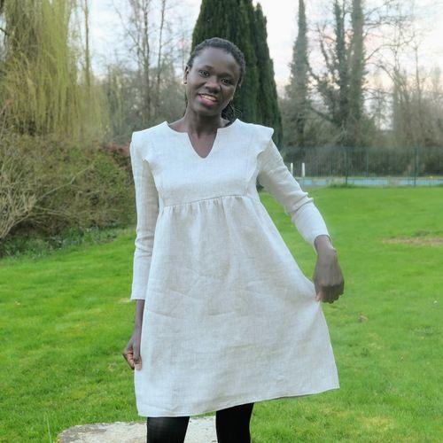 """Makerist - Robe """"In the Sun"""" par @3petitslutins - Créations de couture - 3"""