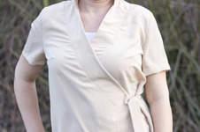 Makerist - Damen Bluse Lavendel aus Viskose - 1