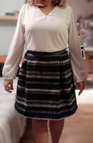 Jupe Monceau et blouse Debbie