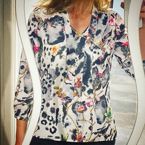 Makerist - Blouse Debbie réalisée en polyester réalisée pour moi  - Créations de couture - 1