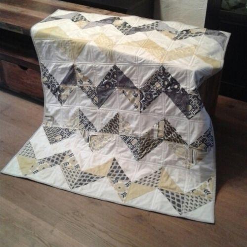 Makerist - ABO Chevron Quilt - Nähprojekte - 1