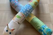 Makerist - Bettschlange als Geschenk zur Geburt - 1