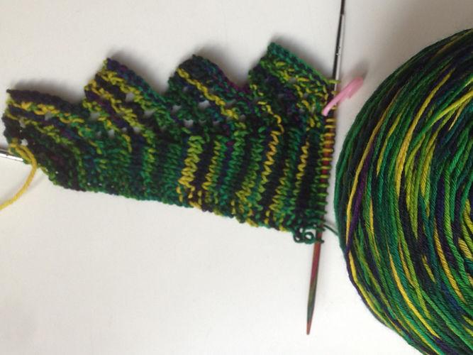 Makerist - ABO / Pimpelliese für meine Mama aus Wollmeise Pure in der Farbe Glückstag - Strickprojekte - 2