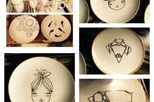 Makerist - ABO: Bemalte Keramik zu Weihnachten - 1