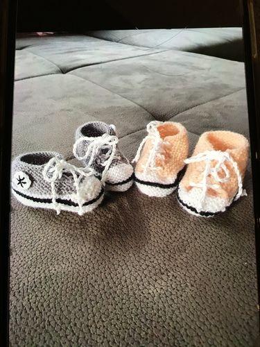 Makerist - Baby-Chucks - Strickprojekte - 1