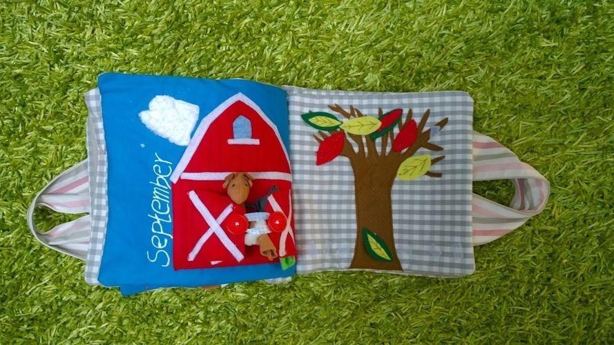 Makerist - ABO Fühlbuch - Nähprojekte - 3