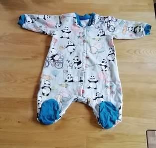 """Makerist - Einteiler """"Heinrich"""" Baby jumpsuit mit Füsschen - 1"""