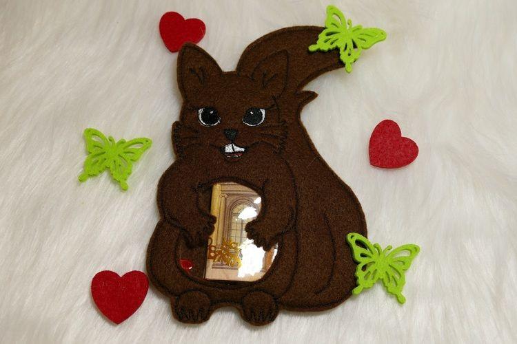 Makerist - Eine süße Geschenkverpackungt - Swee Squirrel  - Filzprojekte - 1