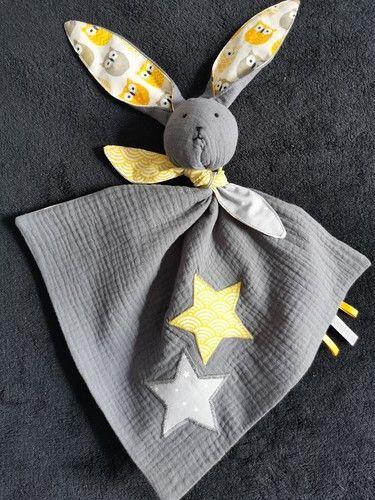 """Makerist - Un joli compagnon """"Marin"""" le lapin pour un petit garçon.  - Créations de couture - 1"""
