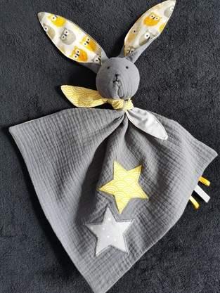 "Makerist - Un joli compagnon ""Marin"" le lapin pour un petit garçon.  - 1"