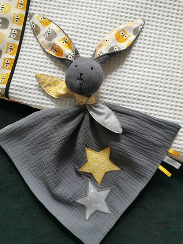 """Makerist - Un joli compagnon """"Marin"""" le lapin pour un petit garçon.  - Créations de couture - 3"""