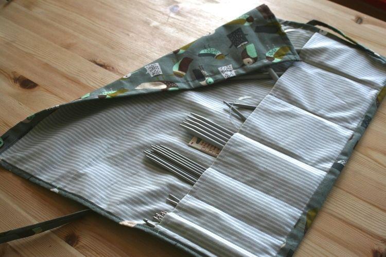 Makerist - ABO, Stricknadeltasche für meine Schwester - Nähprojekte - 1