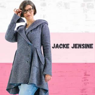 Makerist - Jacke Jensine aus Walk für Damen - 1