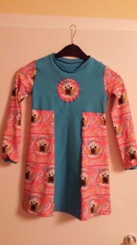 Makerist - Mein ABO mäßiges Kleid aus Jersey für meine Tochter! - Nähprojekte - 1