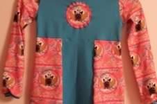Makerist - Mein ABO mäßiges Kleid aus Jersey für meine Tochter! - 1