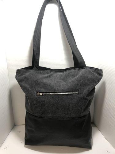Makerist - Sacoche cuir et jeans recyclés  - Créations de couture - 2