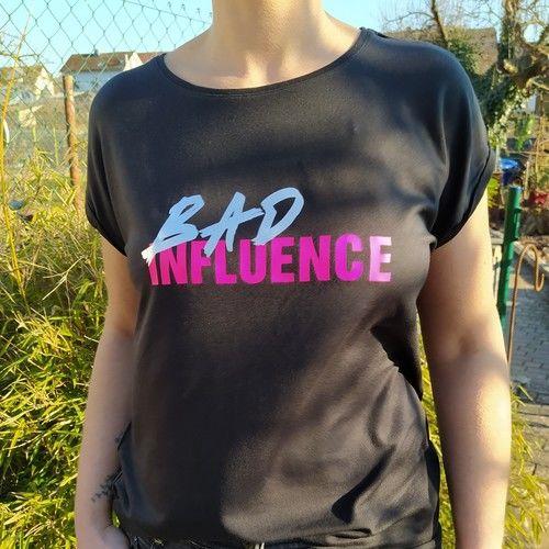 """Makerist - Plottdatei """"Bad Influence"""" von B.Style - Textilgestaltung - 3"""