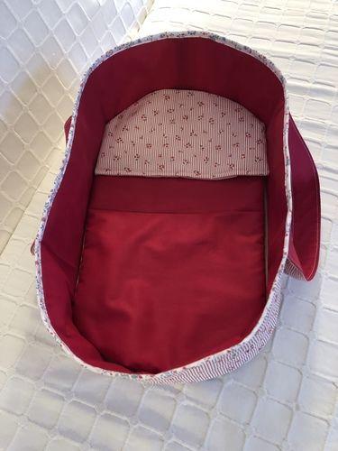 Makerist - Couffin pour poupon de 36 cm, tissu et molleton  - Créations de couture - 1