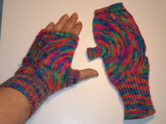 Makerist - Kreishandschuhe - hätte ich auch ohne ABO gezeigt - Strickprojekte - 1